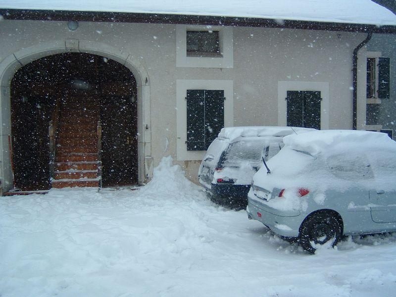 Bassins Switzerland In The Snow