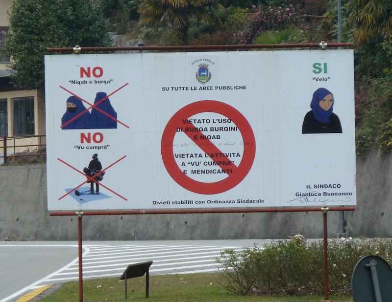 varallo sesia muslim The anti-immigration mayor of the northern italian city of varallo sesia has also barred muslim women from wearing the swimsuit, on pain of a fine of 500 euros (700 dollars) if spotted at swimming .